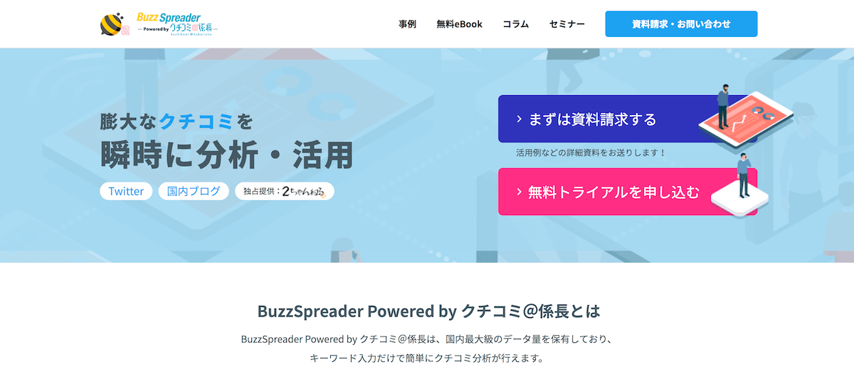 BuzzSpreader Powered by クチコミ@係長