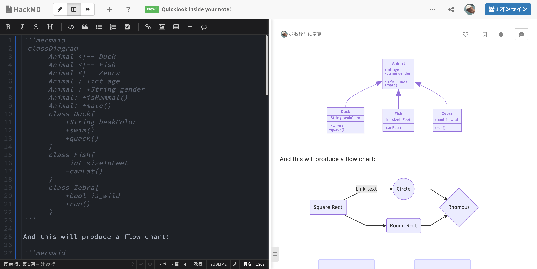 HackMD UML
